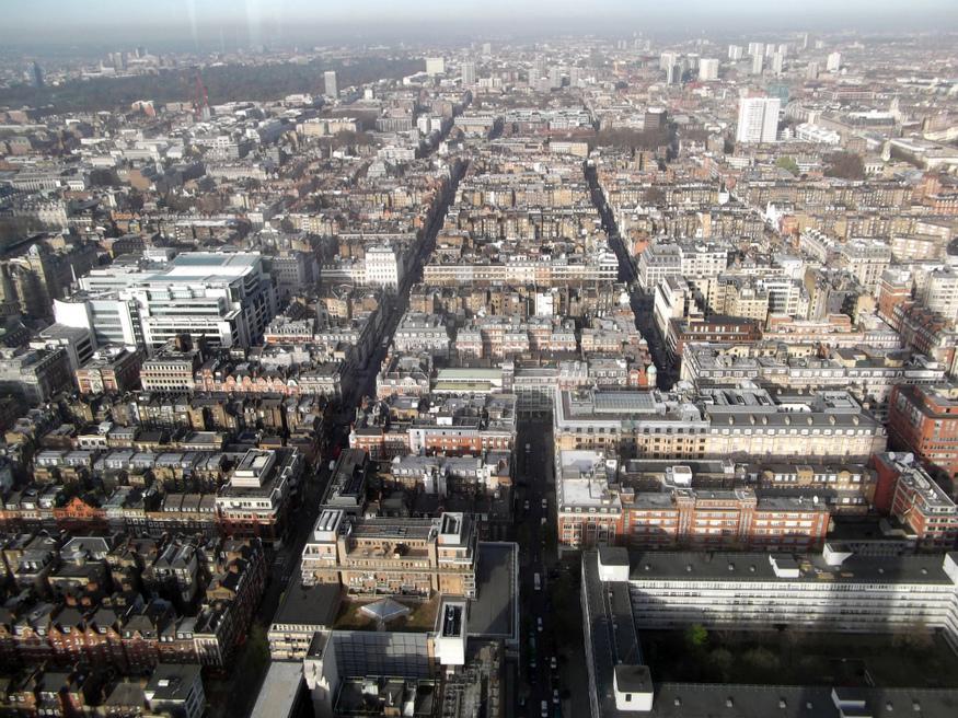 Fitzrovia and Marylebone. One big grid.