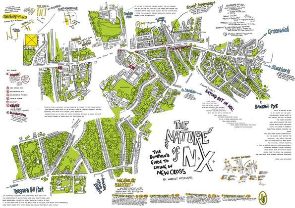 Nature of New Cross by Harriet McDougall