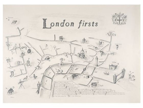 London firsts by Julia Forte
