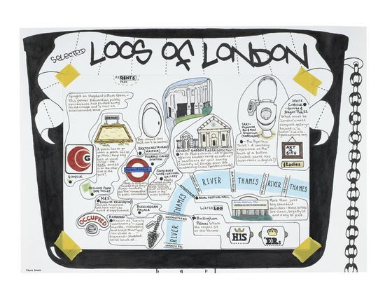 London Loos by Paula Simoes