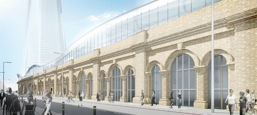 New Images Of Revamped London Bridge Station Emerge