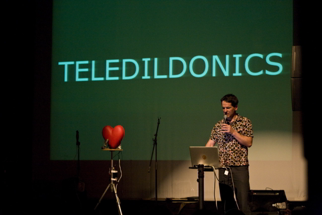 Paul Granjon introduces us to a new word - it means pretty much what you think it does / photo by Rosie Reed Gold
