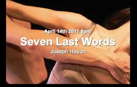 TONIGHT: Seven Last Words @ St James' Church, Piccadilly