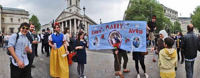 Snog, marry, avoid in Trafalgar Square by Where The Art Is