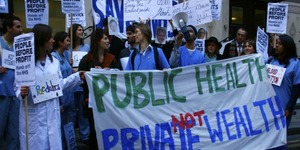 March Against Privatisation Of NHS