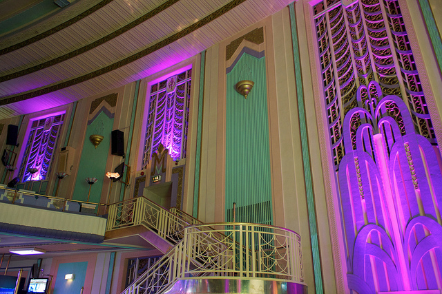 Troxy Art Deco decor