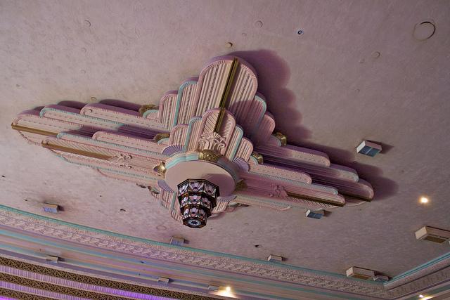 Troxy ceiling