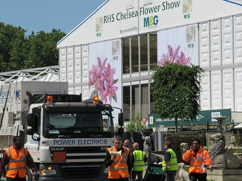 The Chelsea Flower Show operation