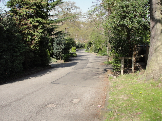 """p108, Bathgate Road: """"Sam trudged on, from Brookwood Road to Elsenham Street, and into Augustus where the slope began in earnest. Up Albert Drive and Albyn Road, through Thursley Gardens and along Seymour Road and Bathgate Road."""""""