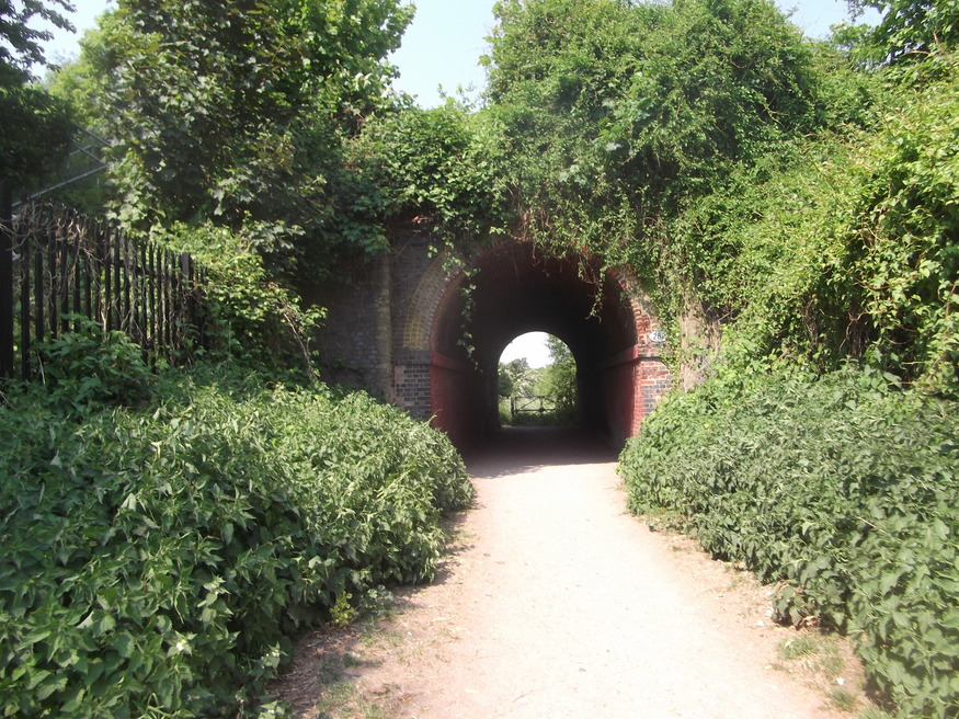 Entrance to Nonsuch Park.