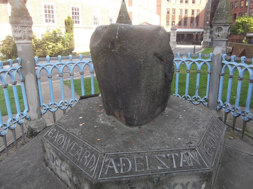 The Coronation Stone in Kingston.