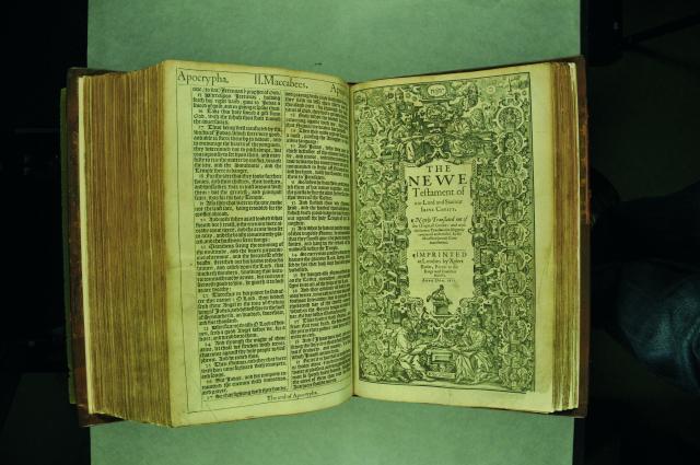 The King James Bible, 1611