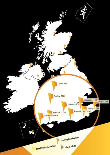 Olympic Torch Relay Route Announced