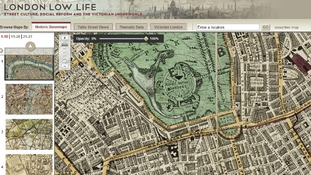 London Low Life: Incredible Exploration Of Victorian London In Maps