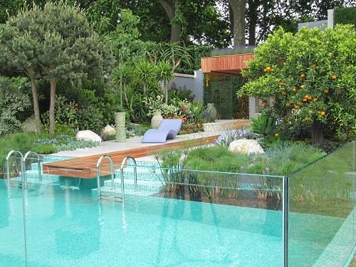The suitably luxurious Monaco Garden