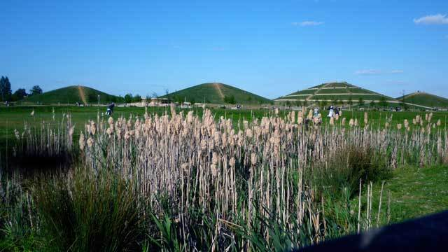 The four mounds