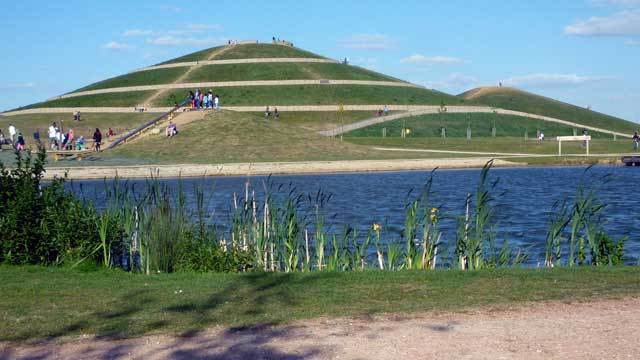 The biggest mound