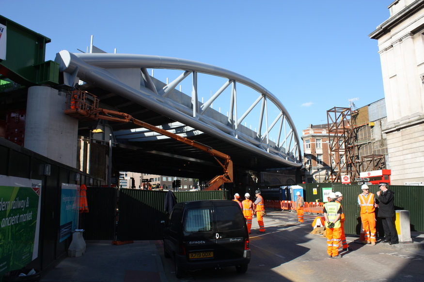 In Pictures: New Thameslink Railway Bridge
