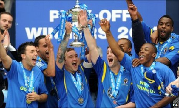 AFC Wimbledon Reach The Football League