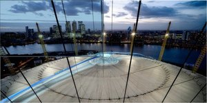 """Skywalk"" Viewing Platform Proposed For Roof Of O2"