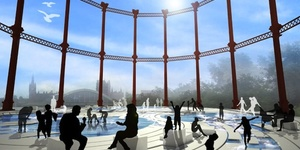 Goodbye To The King's Cross Gasholder