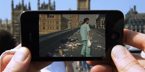 An Augmented Reality Movie App For London