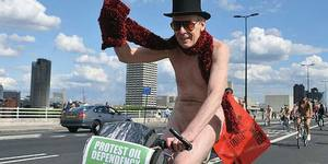 World Naked Bike Ride 2011 In Pictures