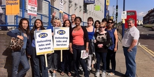 Public Sector Workers Strike Over Pensions