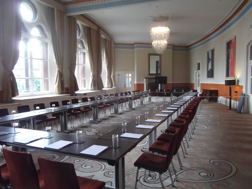 Restored meeting room.
