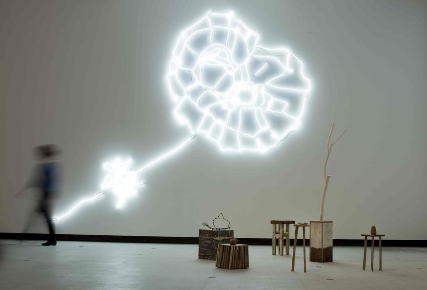 Tracey Emin exhibition Hayward Gallery London By David Levene 15/5/11