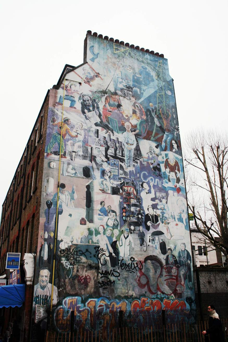 Save The Fitzrovia Mural