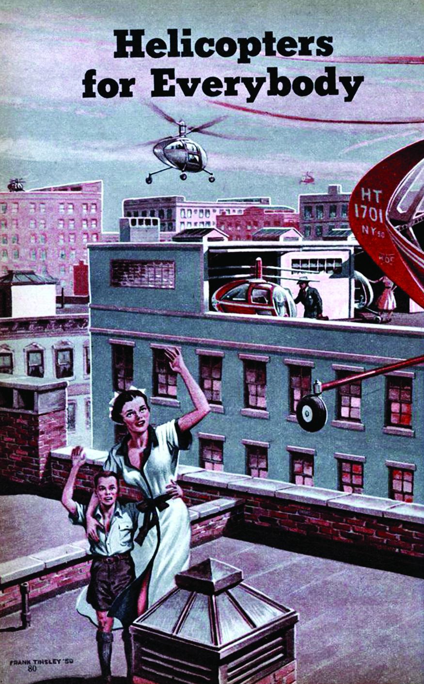 'Helicopters for everybody', Frank Tinsley, 1951
