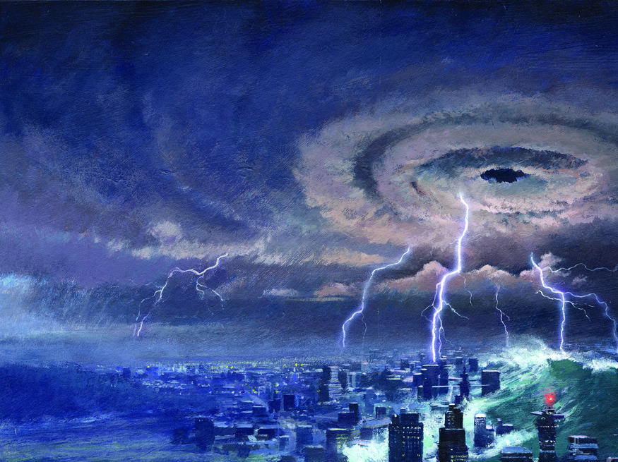 Mother of Storms, John Harris, c1990