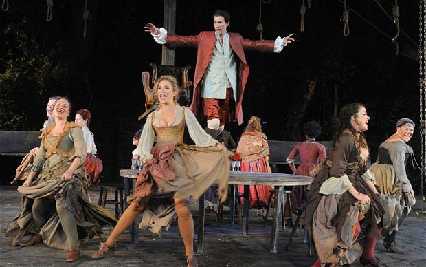Review: Beggar's Opera @ Regent's Park Open Air Theatre