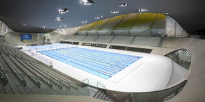 In Pictures: Inside The 2012 Olympic Aquatics Centre