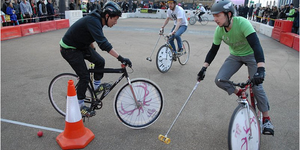 London Open Bike Polo Tournament 2011
