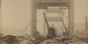 New Pictures Emerge Of Tower Bridge Under Construction