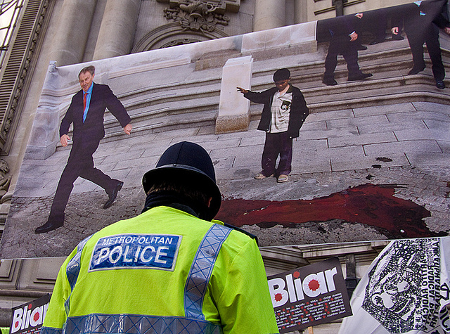Cost Of Public Order Policing Revealed