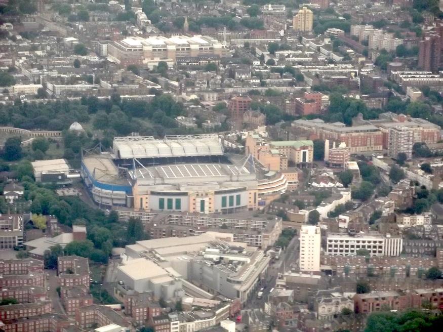Stamford Bridge, Chelsea.