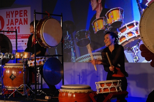 Taiko drums / photo by Tom Royal