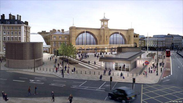 The new King's Cross: goodbye green canopy, hello public plaza
