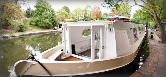 A Floating Hotel Comes To Regent's Canal