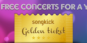 Competition: Win Free Concert Tickets for a Year with Songkick