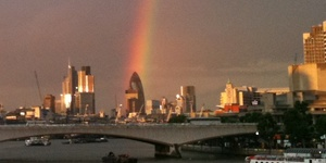 Photos: Gherkin Under The Rainbow