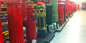 A Tour Of The British Postal Museum Store