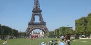 In Pictures: Taking Boris Bikes to Paris