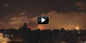 Video: Tottenham Riots - Burning North London Skies