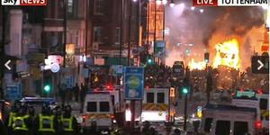 Police Shooting Sparks Violent Riots In Tottenham