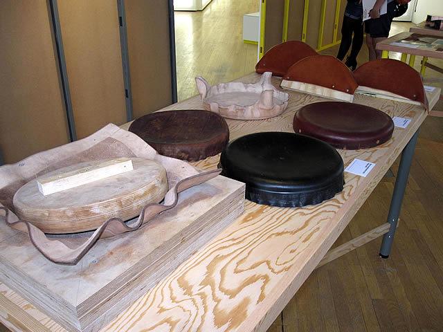 Simon Hasan's gorgeous, rustic leatherwork