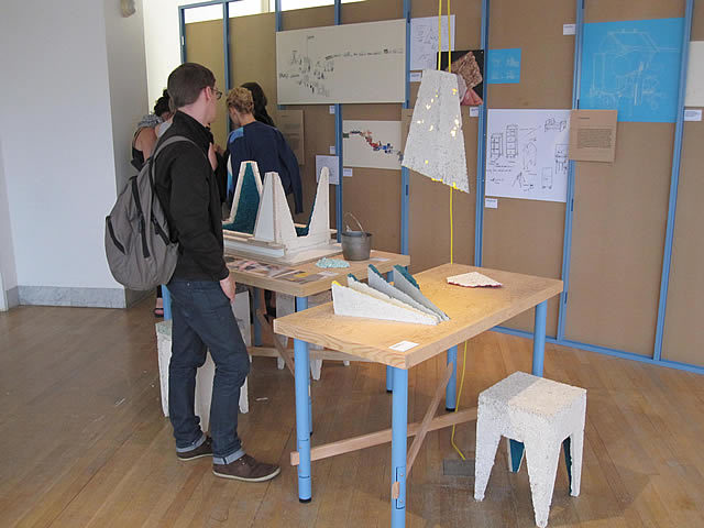 Other example of chipboard furniture from Will Shannon